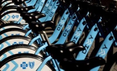 DIVVY Bikes. Jump on and start riding anywhere in the city!