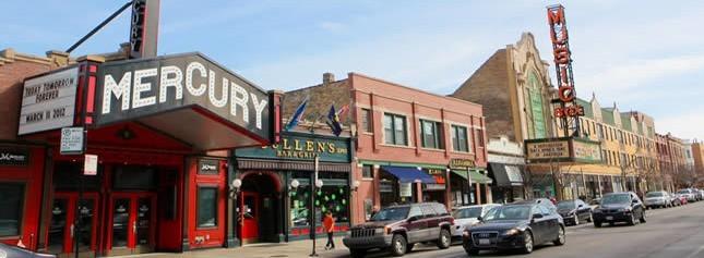 Mercury & Music box theater in chicago