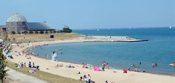 12th Street Beach in Chicago