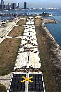 dug up and destroyed Meigs Field