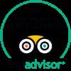 TripAdvisor certificate of excellence badge