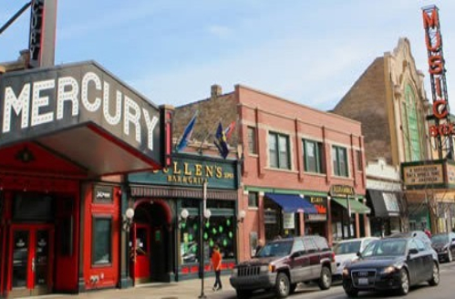 Mercury Theater on Southport Ave in Chicago