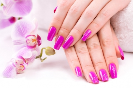 Orchid Nails