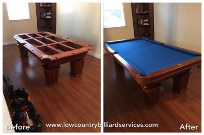 Pool Table Refelt Sc Lowcountrybilliardservices Com