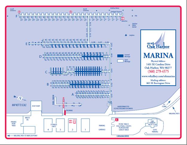 Oak Harbor Marina Map