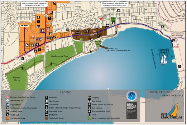 Oak Harbor Map