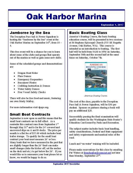 Click to open the Oak Harbor Marina April Newsletter.