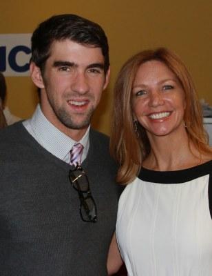 Michael Phelps, Victoria Schweizer