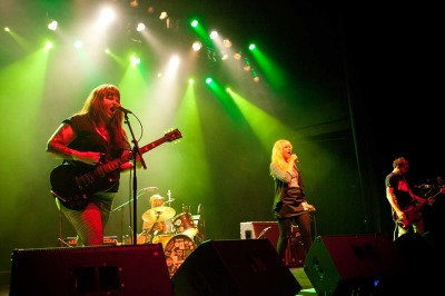Shehehe Band Athens GA Live Music Georgia Theatre Female punk rockers
