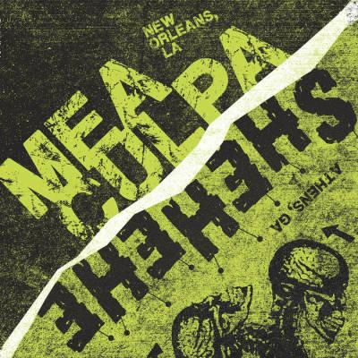 Shehehe band punk band Athens Georgia album artwork Split Mea Culpa