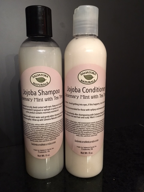 Rosemary/Mint Shampoo & Conditioner Sulphate & Paraben FREE