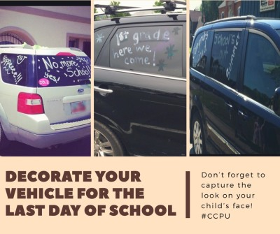 8 DAYS AND WAYS TO CELEBRATE YOUR SUCCESSFUL SCHOOL YEAR, POSTED DAILY.
