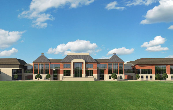 CONSTRUCTION OF THE NEW BEREA-MIDPARK HIGH SCHOOL