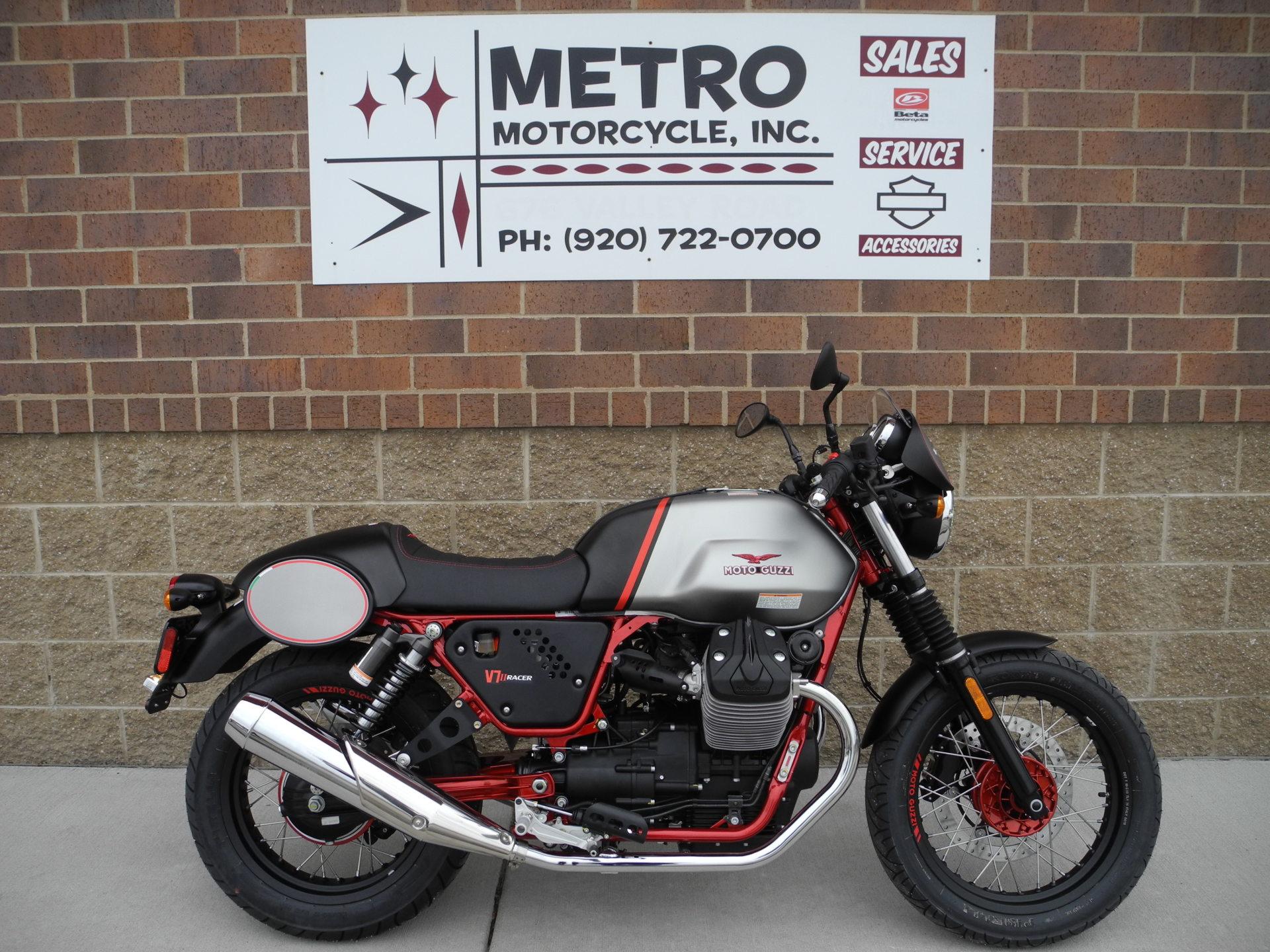 2016 Moto Guzzi V7 II Racer