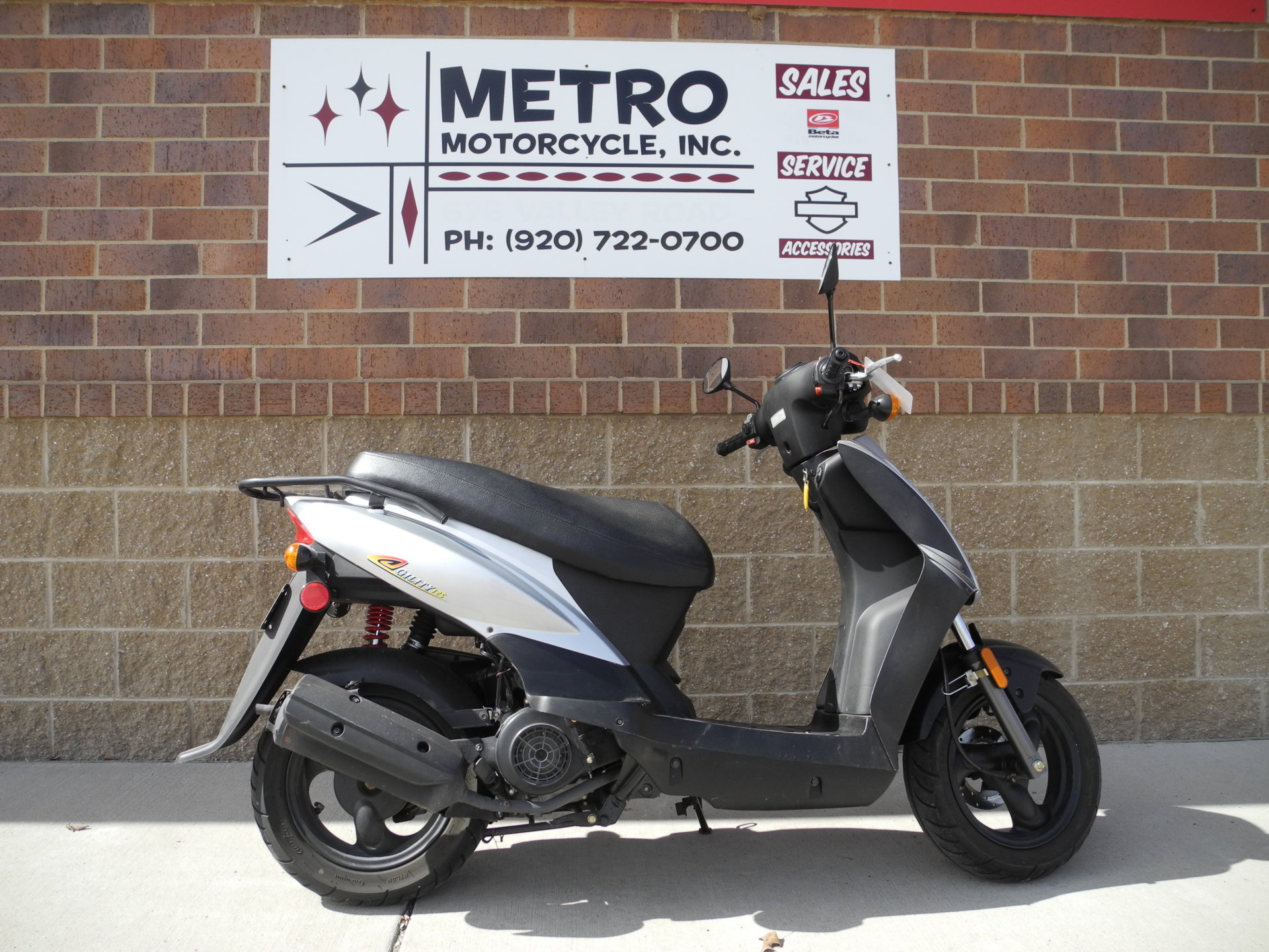 2007 Kymco Agility 125 Scooter