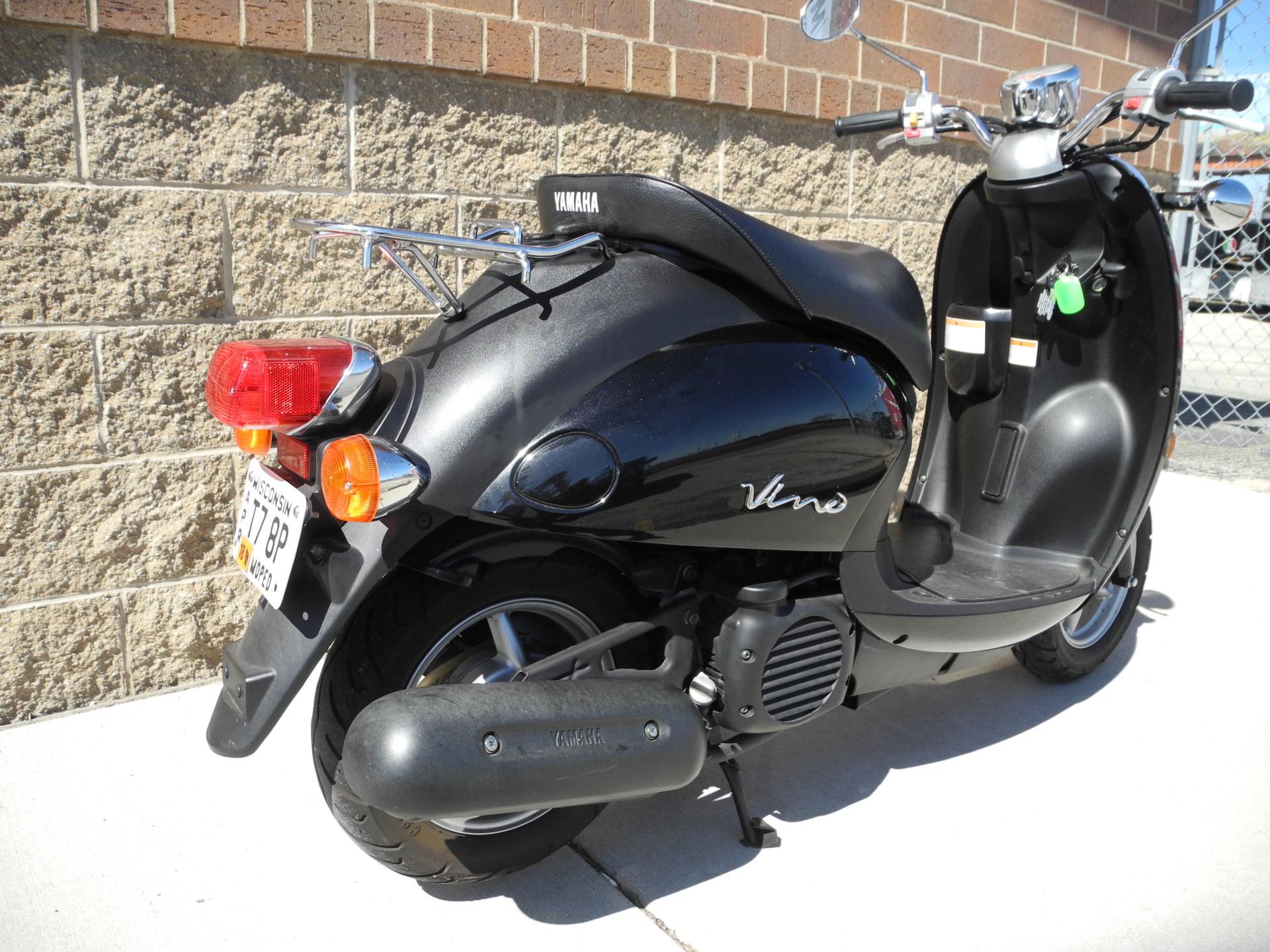 2007 Yamaha Vino 50 Moped