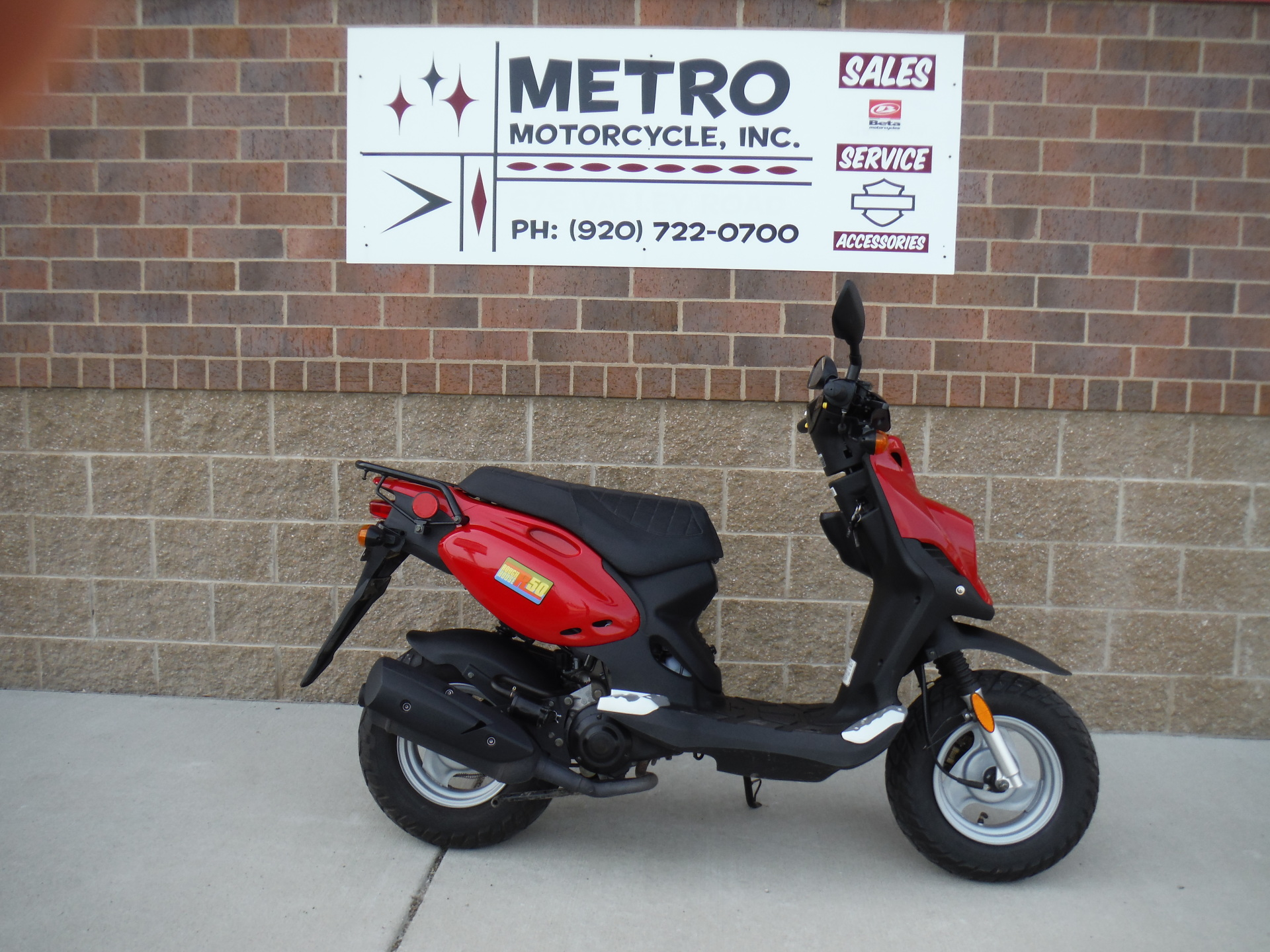 2014 Genuine Scooter Company Roughouse 50