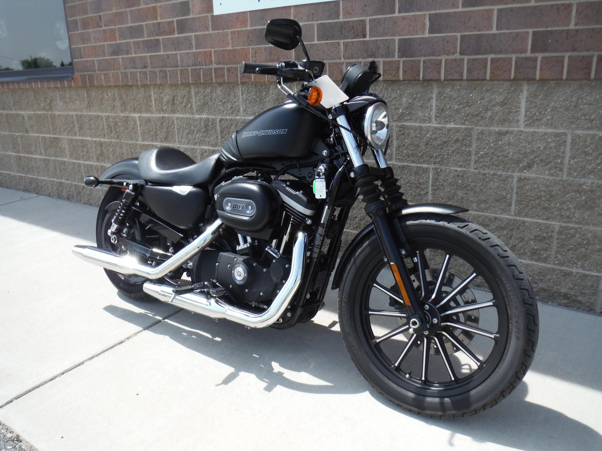 2010 Harley Davidson XL883N Iron