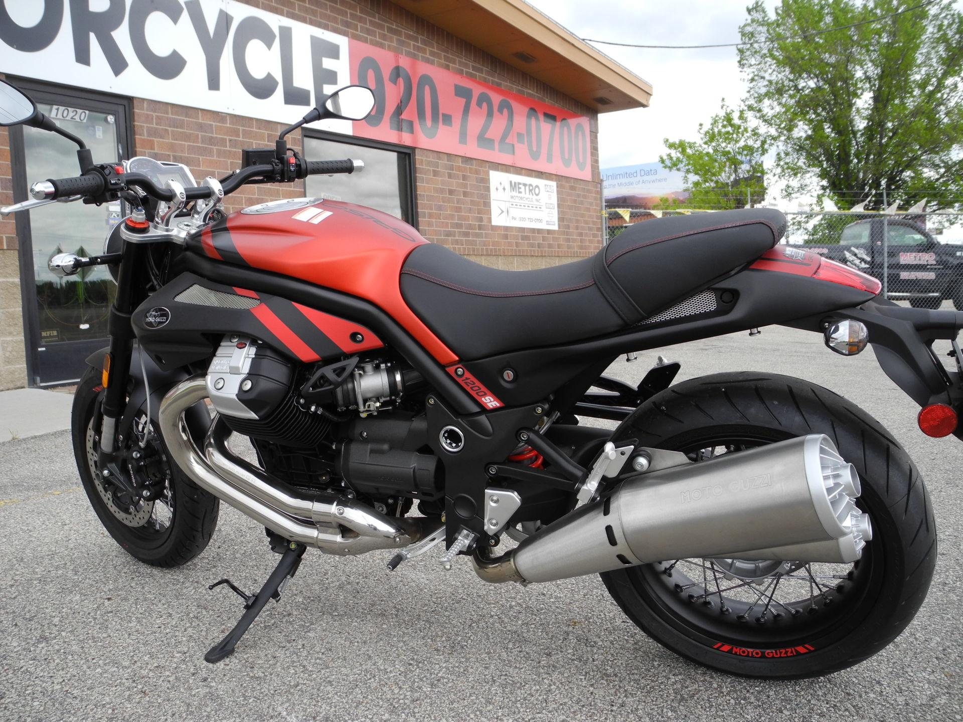2016 Moto Guzzi Griso 1200