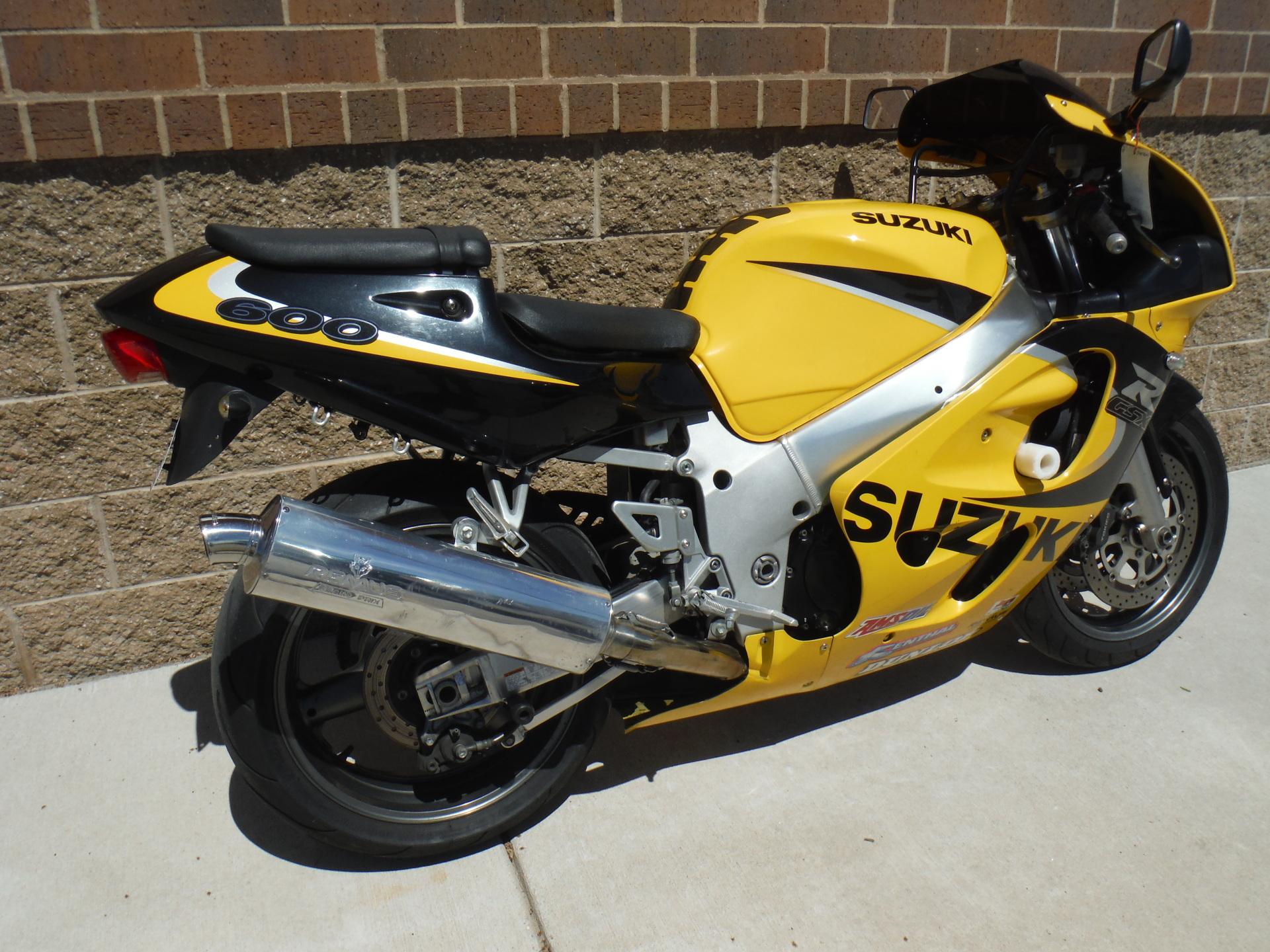 1999 Suzuki GSXR 600