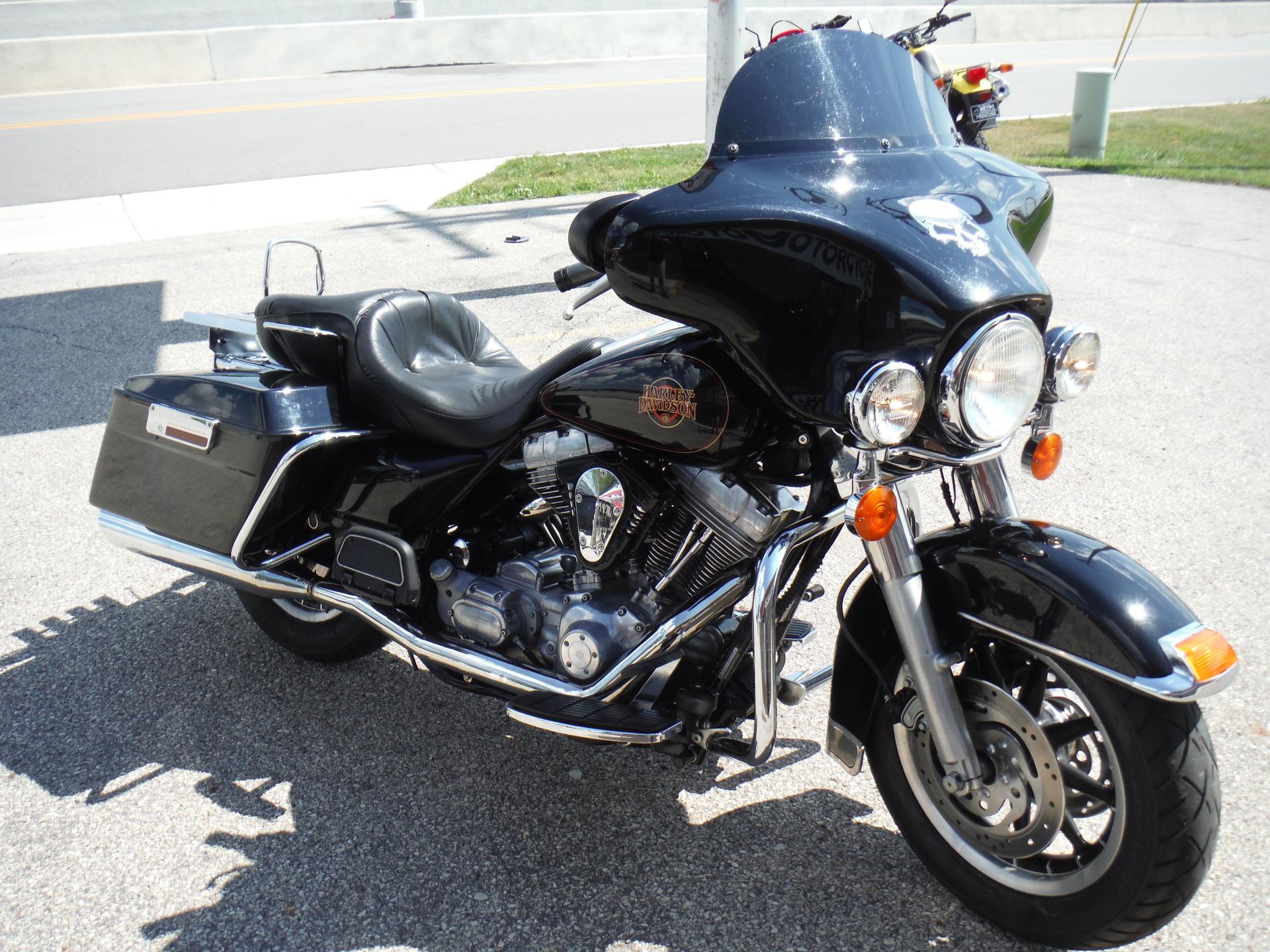 2001 Harley Davidson FLHT Electra Glide