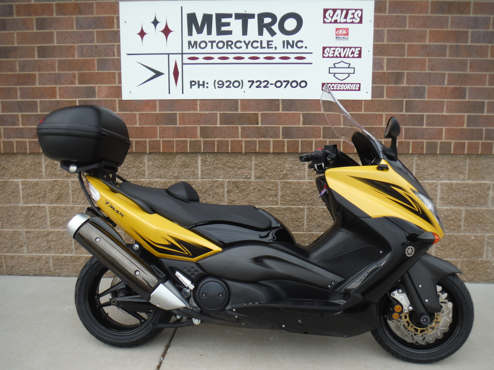 2009 Yamaha T Max 500 Scooter