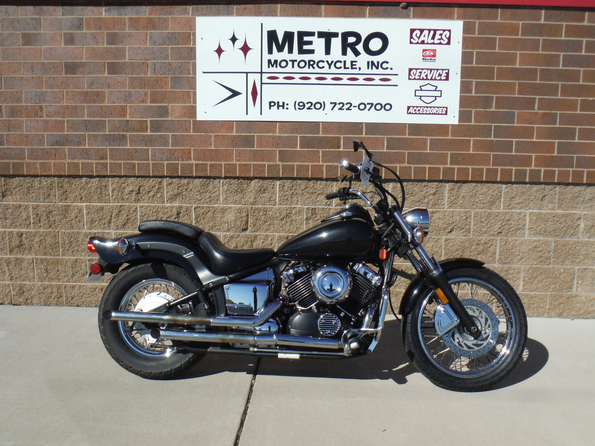 2005 Yamaha V Star 650 Custom