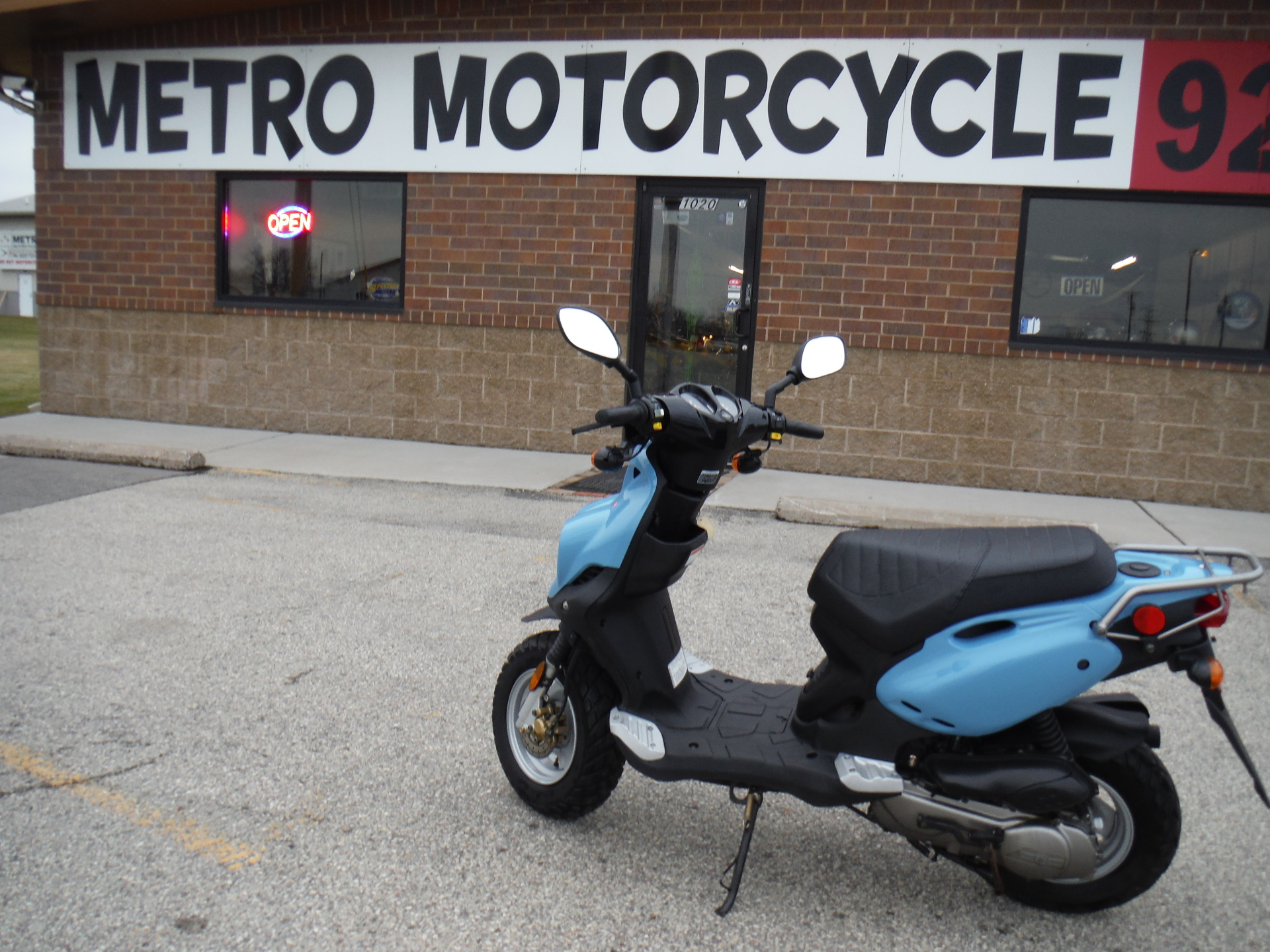 2008 Genuine Roughouse 50 Moped