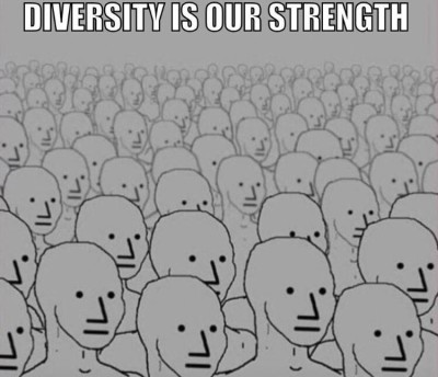 'Diversity' used to destroy mental diversity and freedom of thought