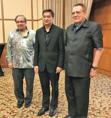 Khun Abhisit Vejjajiva, MRP, Paddy Schubert Consultants, Malaysia Regional Programme
