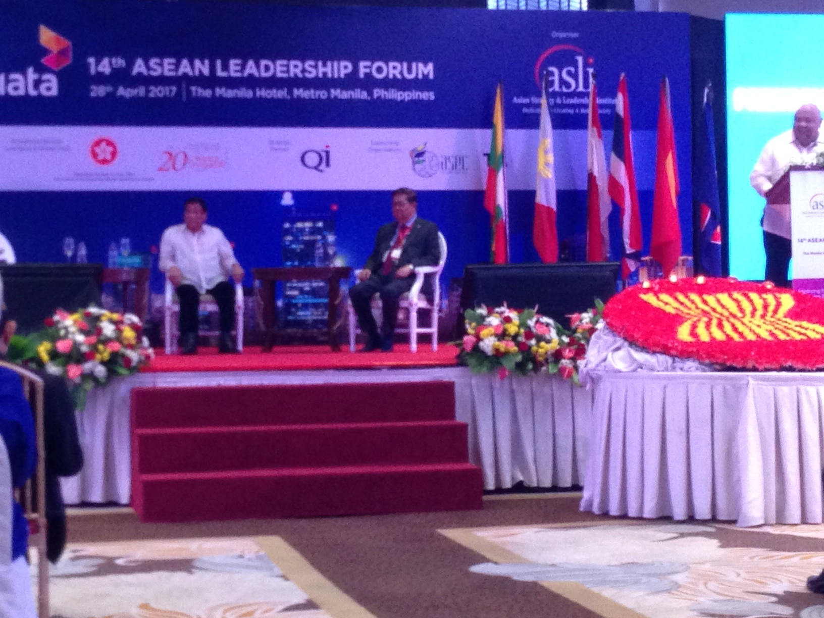 14th ASEAN Leadership Forum, Duterte, Manila Hotel, Paddy Schubert Consultants