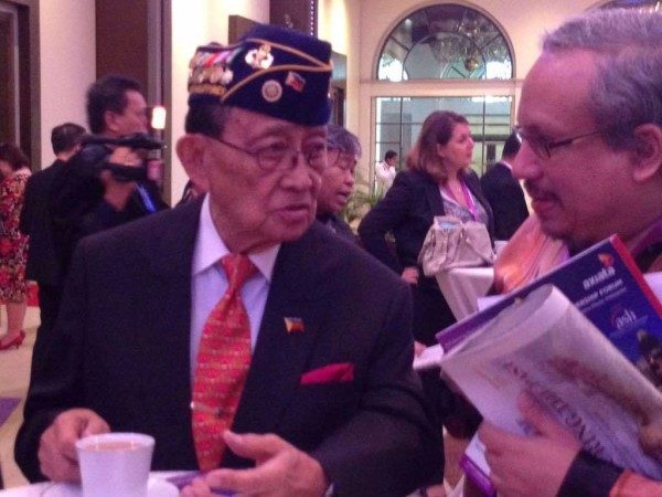 Former President, Republic of the Philippines, Fidel Ramos, Paddy Schubert Consultants, 14th ASEAN Leadership Forum