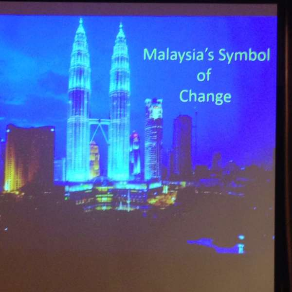 MRP, Paddy Schubert Consultants, Luncheon, Transformation, Datuk Nicholas Zefferys, AMCHAM, Malaysia Symbol of Change, Petronas Towers