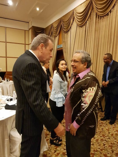 MRP, Paddy Schubert Consultants Sdn Bhd, Malaysian Regional Programme, Dato' Nick Pinder, Homme Productions