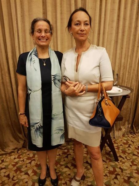 US Ambassador Kamala Lakhdhir and Tunku Soraya Dakhlah