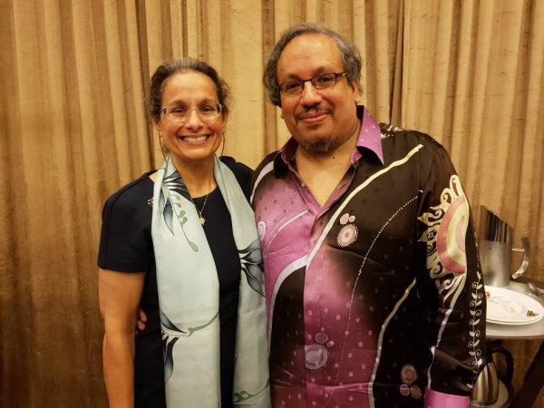 US Ambassador Kamala Lakhdhir and Mr Anil Pillay at our July 2017 MRP luncheon