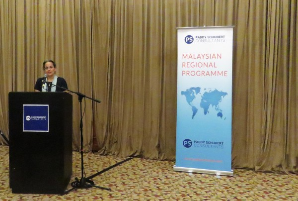 Guest speaker US Ambassador Kamala Lakhdhir