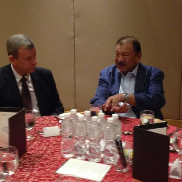 Our November 2017 MRP luncheon held at the Pullman Hotel KLCC, with guest speaker Tunku Imran