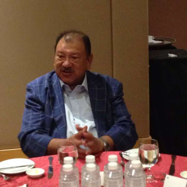 Tunku Imran at our November 2017 MRP luncheon held at the Pullman Hotel KLCC