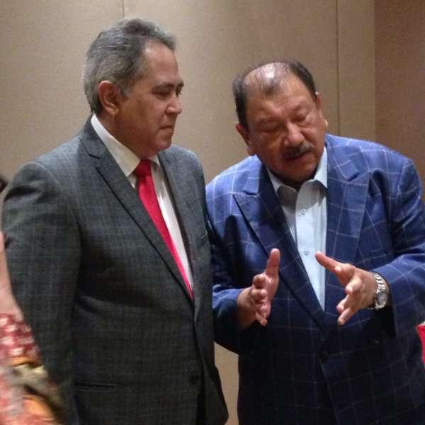Tunku Fauzi with Tunku Imran at our November 2017 MRP luncheon held at the Pullman Hotel KLCC
