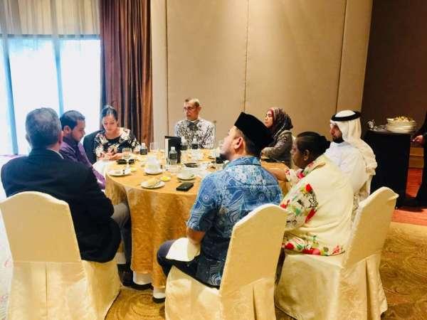 MRP luncheon with guest speaker, Mr Karim Khan QC.