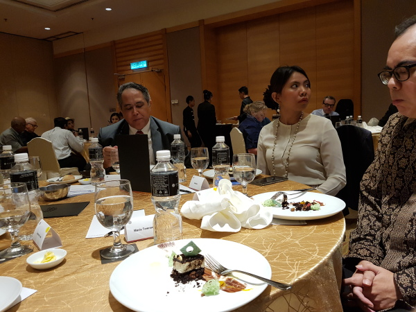MRP Luncheon in April 2018 at the Pullman Hotel KLCC.