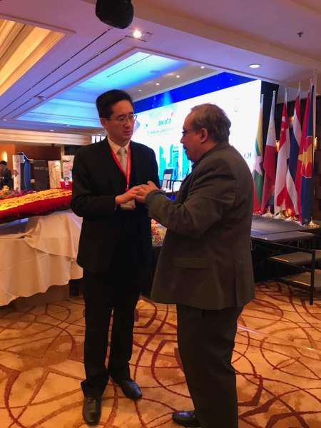 The 15th ASEAN Leadership Forum held at the Marina Mandarin Hotel, Singapore, in April 2018.