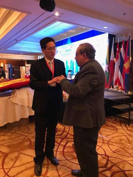 The 15th ASEAN Leadership Forum held at the Marina Mandarin Hotel, Singapore, in April 2018.