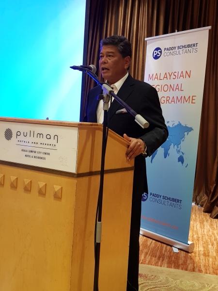 MRP Luncheon with guest speaker Dato' Seri Abdul Azim Mohd Zabidi in May 2018.