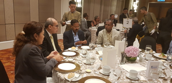 MRP Luncheon with guest speaker Khun Korn Chatikavanij at the Shangri-La Hotel on 18 July 2018.
