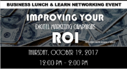 improve marketing strategies, lunch and learn events, business events,