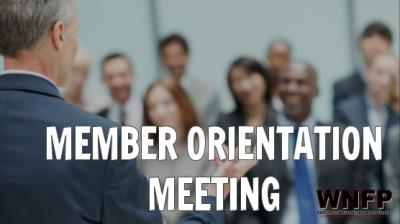 member orientation meeting, member meetings, membership