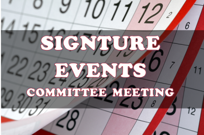 events committee meetings, committee events