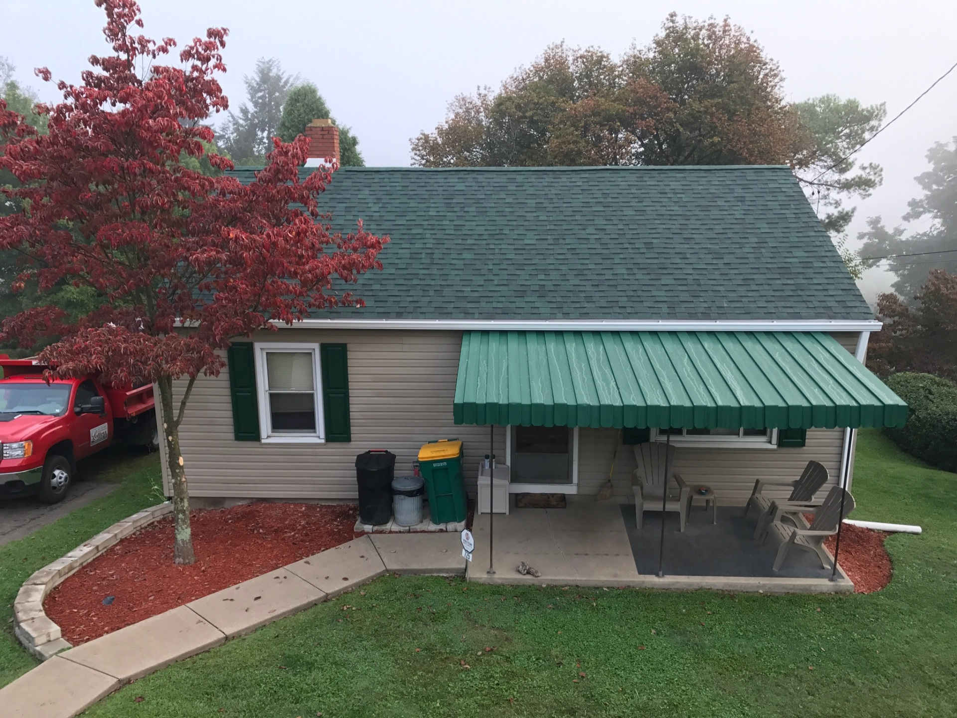 Owens Corning Duration Chateau Green